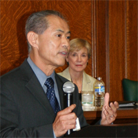 Dale Minami at San Mateo Bar Association Diversity Committee